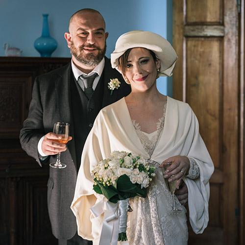 fotografia matrimonio prato sposi