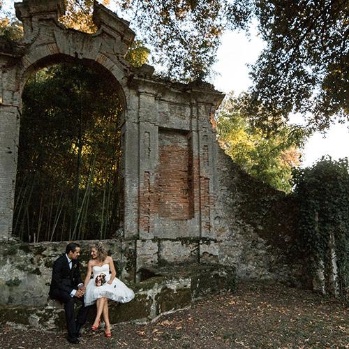 matrimonio villa Corliano