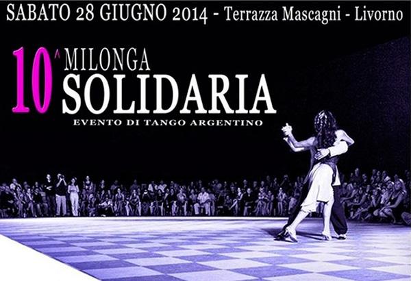 Milonga Solidaria Livorno 2014